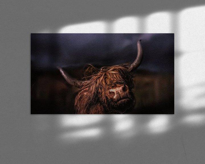 Beispiel: Schottischer Hochlandbewohner von Maurice Dawson
