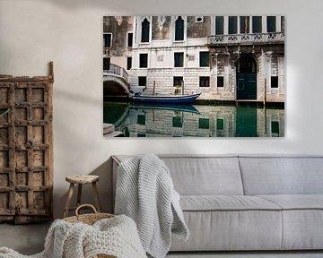 Typical venetian canal von Marco de Groot