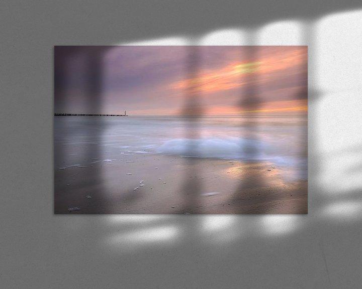 Sfeerimpressie: Zonsondergang Breskens van Frankhuizen Photography