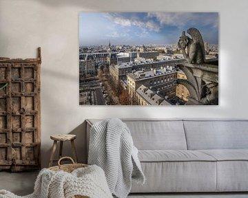 Blick von der Kathedrale Notre Dame, Paris von Christian Müringer