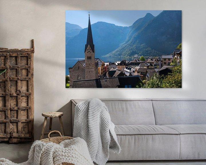 Sfeerimpressie: Uitzicht op Hallstatt van Peter Baier