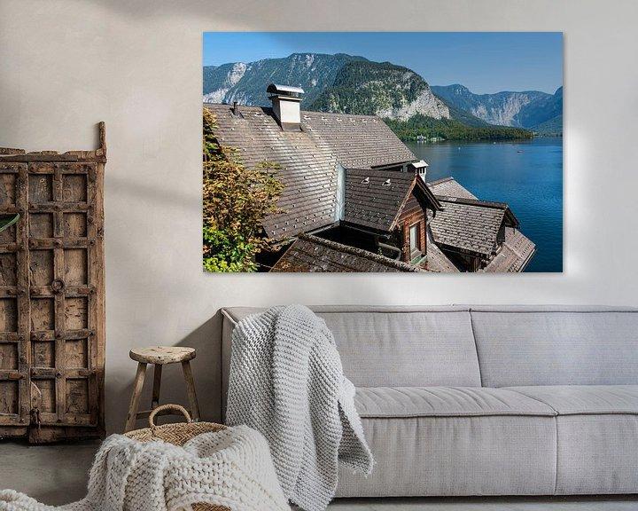 Sfeerimpressie: Uitzicht over het Hallstatt-meer van Peter Baier
