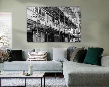 Baugerüst neue Konstruktion von Wim Lanser