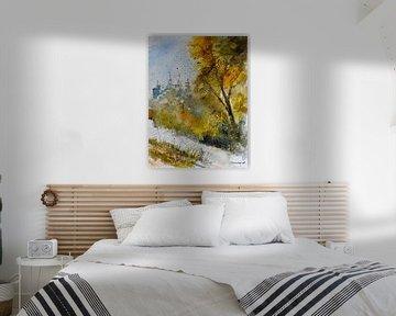 Gouden herfst van pol ledent