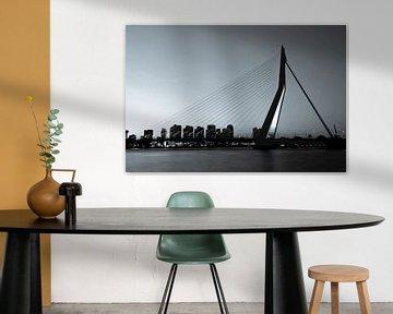Rotterdam. Die Erasmus-Brücke. von Gerrit de Heus