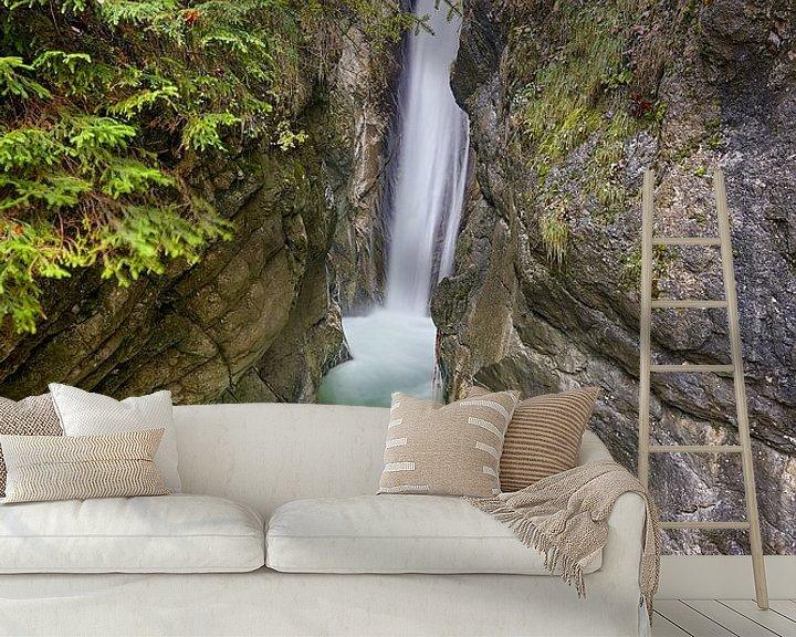 Beispiel fototapete: Tatzelwurm-Wasserfälle von Einhorn Fotografie