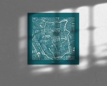 Utrecht in Straßennamen und Sehenswürdigkeiten von Vol van Kleur