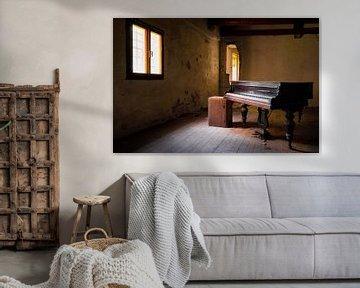 Donkere en Verlaten Piano.