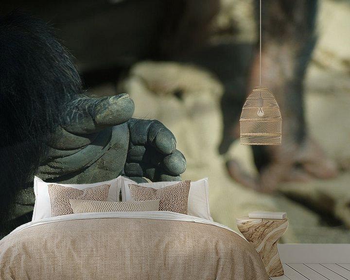 Sfeerimpressie behang: Geef me je hand. van Eisenpictures