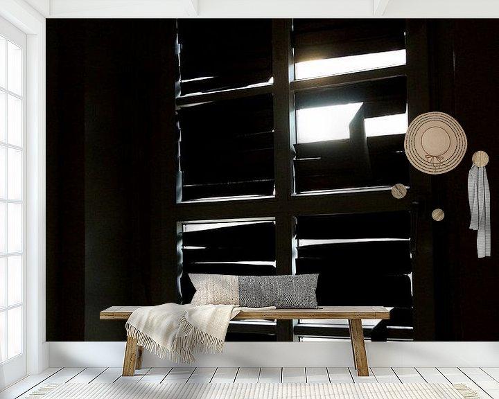 Sfeerimpressie behang: Donker of licht van Eisenpictures