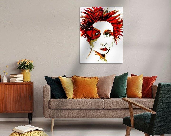 Beispiel: Femme Fatale Rouge von Anita Snik-Broeken