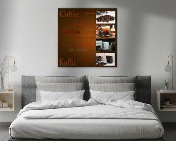 Reclame uiting voor koffiehuis, restaurant of cafe van Margriet Hulsker