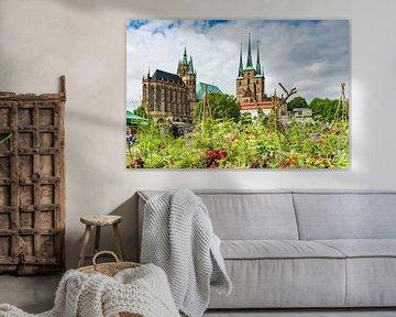 Erfurter Dom und  Severikirche von Gunter Kirsch