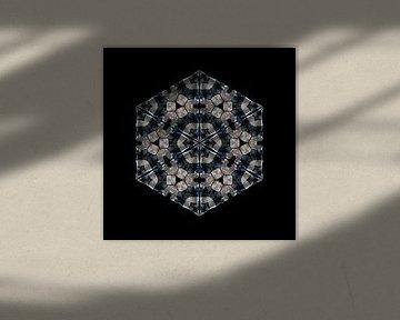 Frau in Spitzenunterwäsche (Kaleidoskop)