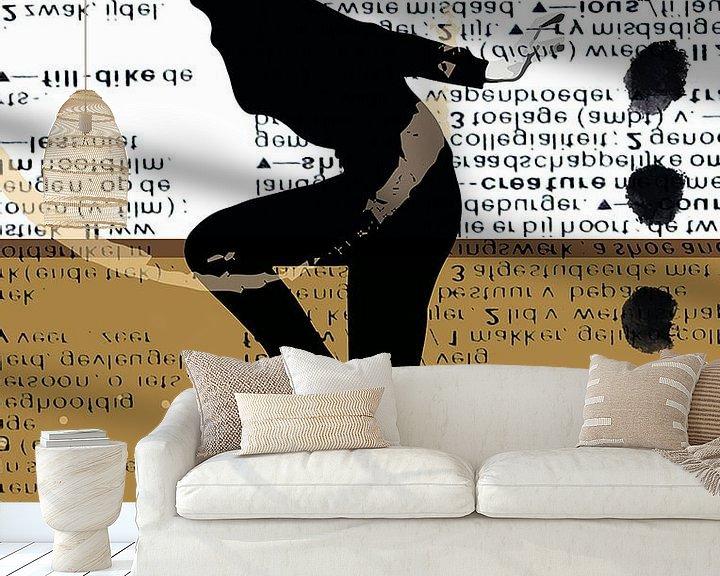 Beispiel fototapete: Audrey Hepburn von Mirjam Duizendstra