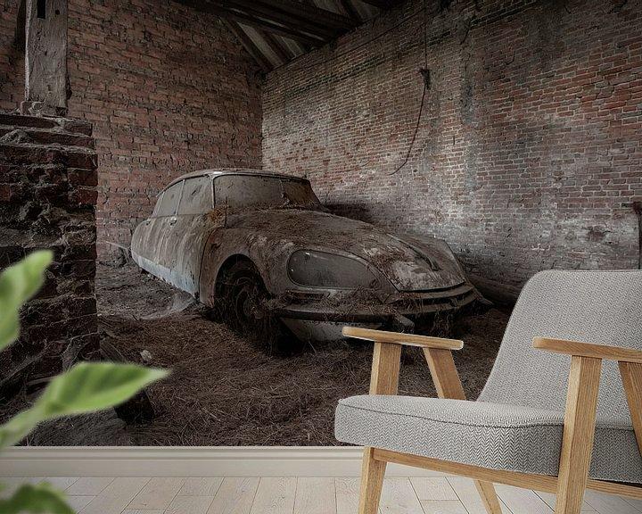 Sfeerimpressie behang: Citroën DS van Robbert Wille