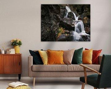Rieslochwatervallen in de herfst van Max Schiefele