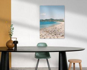 Ibiza strand met geweldig uitzicht van Youri Claessens