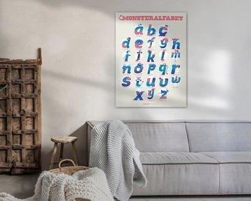 MonsterAlfabet van Gilmar Pattipeilohy