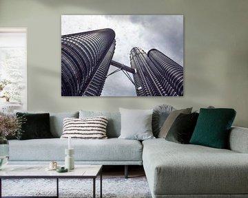 Wolkenkratzer von Kuala Lumpur von Jolene van den Berg