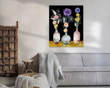 Getrocknete Blumen in Vase von Geertje Burgers