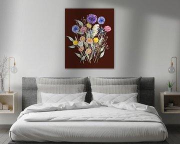 Trockenblumen-Bouquet von Geertje Burgers
