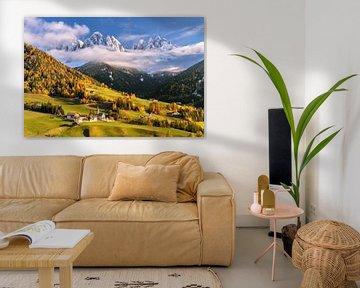 Herfst in Zuid-Tirol van Achim Thomae