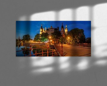 Schloss Schwerin van Bob de Bruin