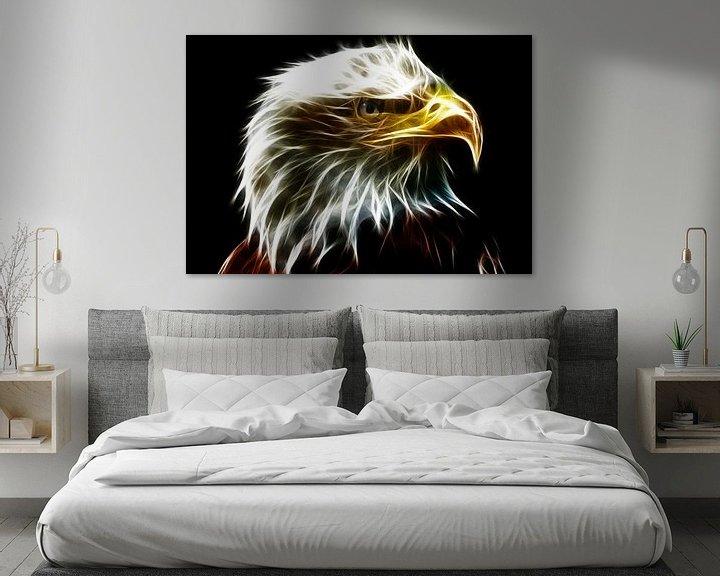 Beispiel: Aus dem Auge eines Adlers von Bert Hooijer