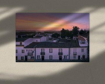 Sonnenaufgang in Evora
