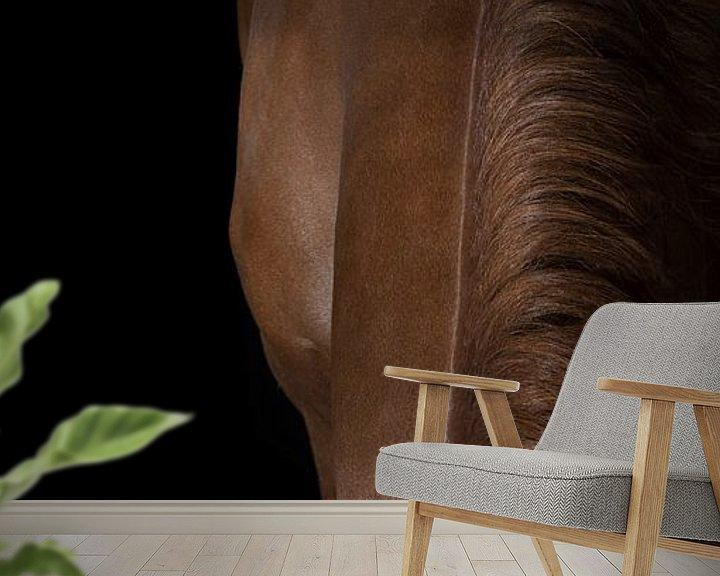 Beispiel fototapete: Eleganz des Pferdes von Stephanie Prozee