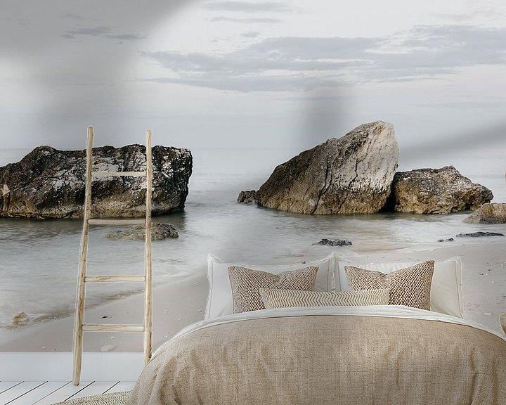 Beispiel fototapete: Felsen im Meer, Italien von Stephanie Egberts
