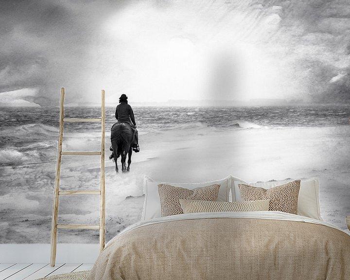 Beispiel fototapete: Stürmische Zeiten von Claudia Evans