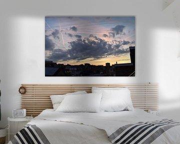 Drukke zonsondergang van Elke Dag Een Foto