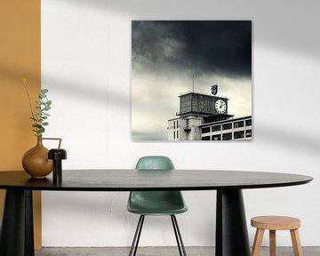 Uhrengebäude Philips, Strijp S, Eindhoven von Keesnan Dogger Fotografie