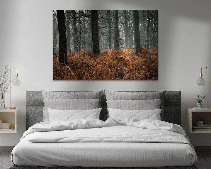 Sfeerimpressie: Door het bos de bomen zien van Inez VAN DE WEYER