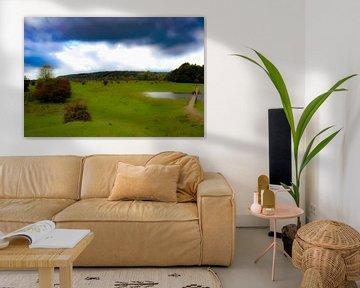 Die malerische Schönheit des blauen Zimmers von PhotoManiX Digital Photography