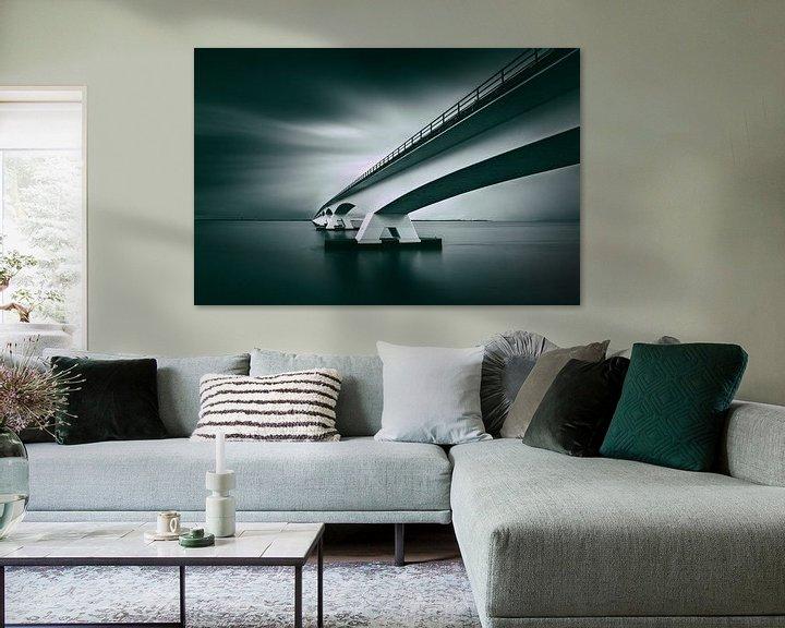 Sfeerimpressie: Zeelandbrug van Ruud Peters