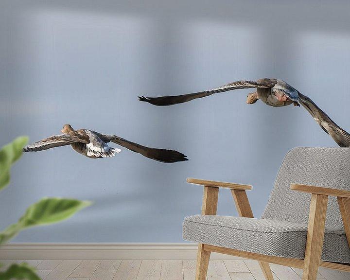 Beispiel fototapete: Fliege weg in die Freiheit / Fliege weg in die Freiheit von Henk de Boer