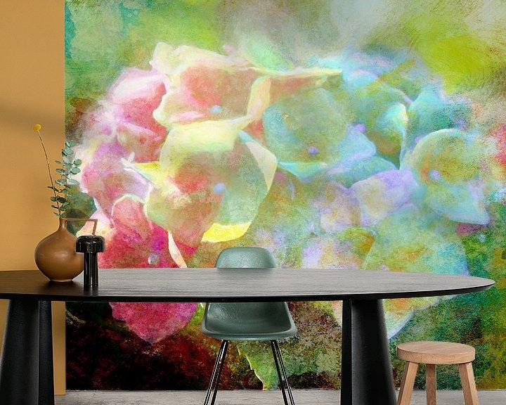 Beispiel fototapete: Hydrangea 2020 von Andreas Wemmje