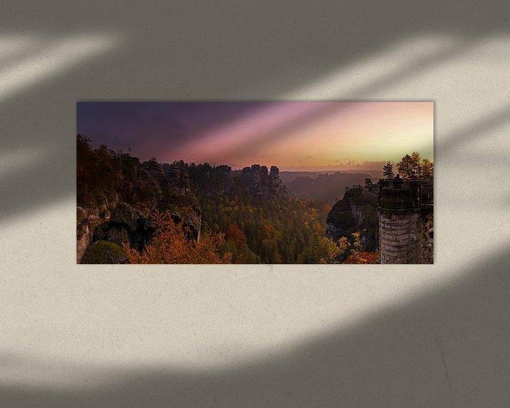 Impression: Lever de soleil en Suisse saxonne sur Frank Herrmann