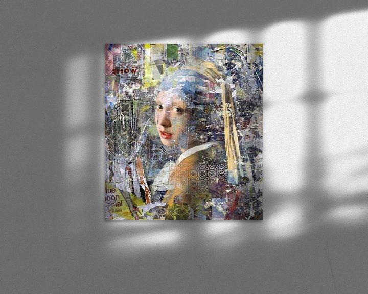 Beispiel: Collage-Mädchen mit der Perle von Dennisart Fotografie