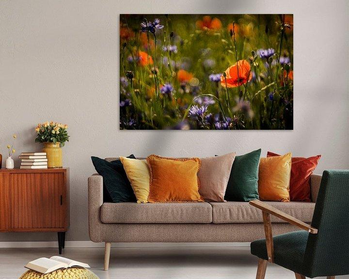 Beispiel: Blumenwiese von Udo Wanninger limitiete Auflage