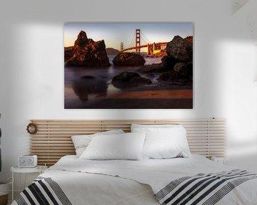 Golden Gate Bridge von Steve Mestdagh