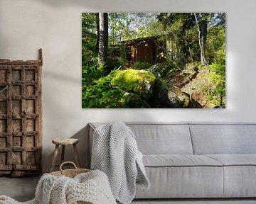 Betoverend huis in de Zweedse bossen van Thomas Zacharias
