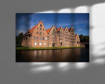 Zoutopslag Hanzestad Lübeck, Duitsland van Adelheid Smitt