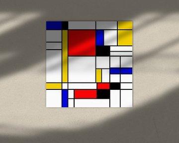 Mondrian Style von Karin Schwarzgruber