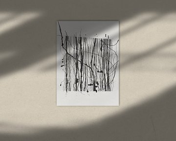 Abstrakte Zusammensetzung 1030 von Angel Estevez