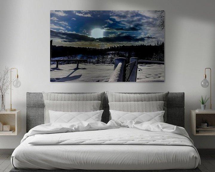 Beispiel: Painterly Beauty,... Morgen des Winters von PhotoManiX Digital Photography