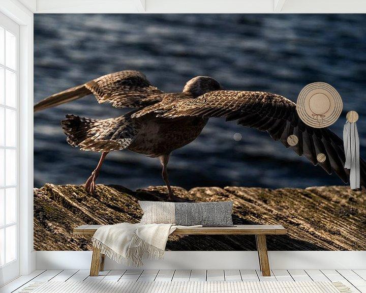 Beispiel fototapete: Abflug von Stephan Zaun